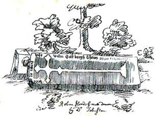 2. Nathaniel Johnston's sketch