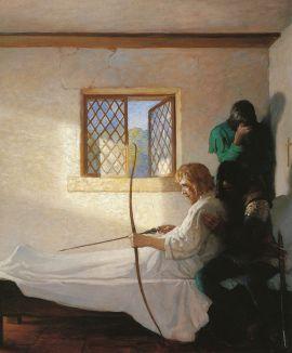 N.C._Wyeth_-_The_Passing_of_Robin_Hood
